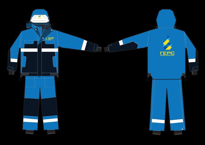 Зимний комплект одежды «ГЕРС Инжиниринг»